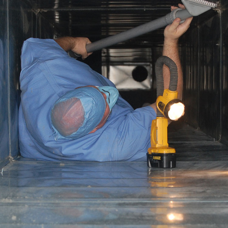 Healthcare Air Duct Cleaning