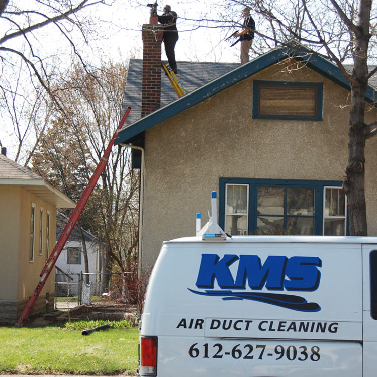 KMS Air Duct Cleaning - Chimney Cleaning